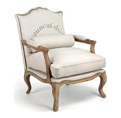 Chateauneuf du Pape' French Country Club Chair