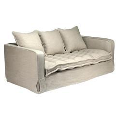 Roslyn Industrial Loft Luxe Futon Seat Sofa