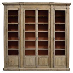 Daren French Country Brown Reclaimed Wood Bookcase