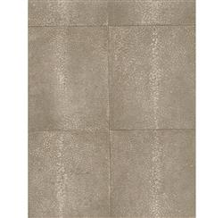 Galuchat Industrial Stippled Hide Wallpaper - Coffee