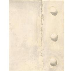 Isambard Industrial Iron Panel Wallpaper - Cream