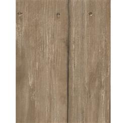 Rustic Lodge Timber Panel Wallpaper - Oak