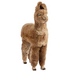 Joanna Modern Brown Alpaca Llama Plush Toy - Small