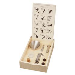 L'Atelier Du Vin Oeno Modern Classic Connoisseur Wine Tools Box - Set of 7