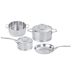 Demeyere Atlantis 6 Piece Stainless Steel Pots and Pans Set