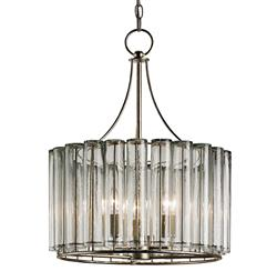 Industrial Loft Modern 3 Light Bud Vase Round Chandelier - Small
