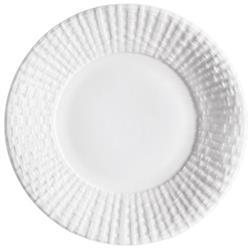 Michael Aram Palm Modern Classic White Porcelain Dinnerware Tidbit Plate