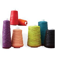 Modern Colorful Yarn Spool Vases - Set of 7