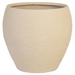 Phillips Collection Ariana Modern Classic Off White Resin Planter - Small