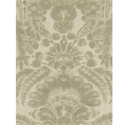 European Soft Damask Wallpaper - Taupe - 2 Rolls
