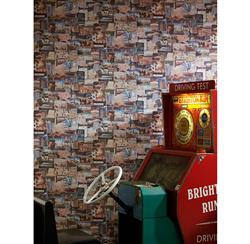 Pinboard Postcard Travel Wallpaper - Multi - 2 Rolls