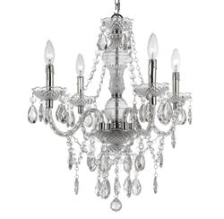 Zoe Global Bazaar Clear 4 Light Mini Chandelier | AFL-8350-4H