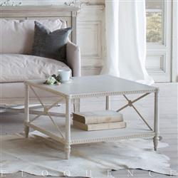 Eloquence Tresor Coffee Table in Provencal White Finish