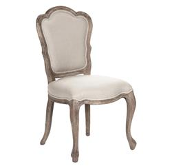 Bertha French Country Scalloped Back Dining Chairs