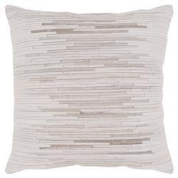 Emmeline Modern Classic Ivory Hair On Hide Down Pillow