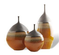 Montalegre Southwestern Bronze Umber Modern Vase Trio