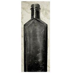 Copper River Industrial Loft Bottle Black White Photo Wall Art - F - Unframed