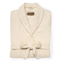 Sferra Modern Sardinia Ivory Cashmere Robe - M-L