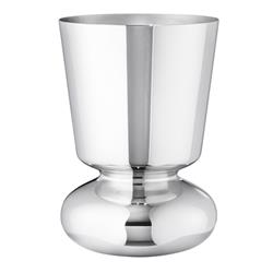 Georg Jensen Alfredo Modern Classic Silver Stainless Steel Vase