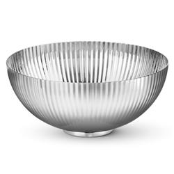 Georg Jensen Bernadotte Modern Classic Silver Stainless Steel Round Bowl - Small