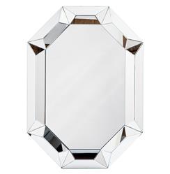 Lawford Hollywood Regency Framed Prism Mirror