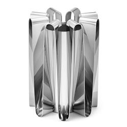 Georg Jensen Frequency Modern Classic Stainless Steel Large Vase