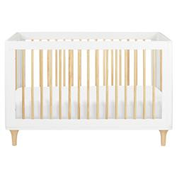Babyletto Lolly Modern Classic White Convertible Crib