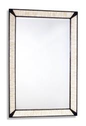 Torra Modern Rustic Large Bone Inlay Mirror | 315082