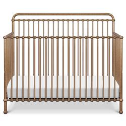 Million Dollar Baby Winston French Vintage Gold Steel 4-in-1 Convertible Crib