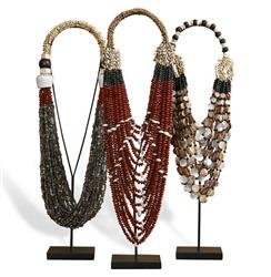 Kejeta Global Bazaar Beauty Tribal Necklaces - Set of 3 | 978003