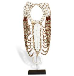Merkato Global Bazaar Shell Beaded Tribal Necklace | 978004