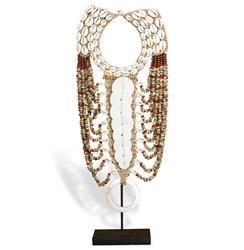Merkato Global Bazaar Shell Beaded Tribal Necklace