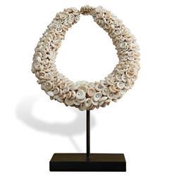 Smata Global Bazaar White Bead Tribal Necklace