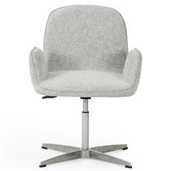 Levi Modern Classic Grey Performance Aluminum Office Chair