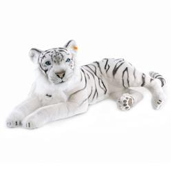 Steiff Modern Classic Tuhin The White Tiger Kids Woven Plush Toy
