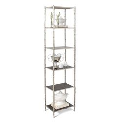 Spring Lake Coastal Beach Silver Twig Black Granite Display Shelves