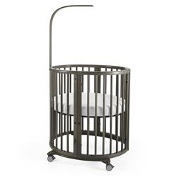 Stokke Sleepi Modern Classic Baby Crib Mini - Hazy Grey