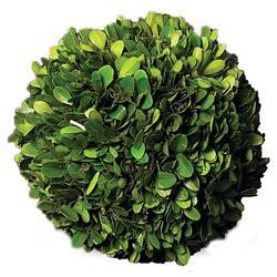 Marin French Country Green Boxwood Ball - Medium