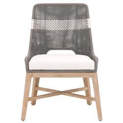 Amber Modern Classic Grey Mahogany Wood Dining Chair - Set of 2