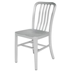 Bleeker Industrial Loft Aluminum Dining Chair