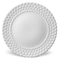 L'Objet Aegean Modern Classic White Porcelain Charger Plate