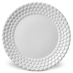 L'Objet Aegean Modern Classic White Porcelain Dinner Plate