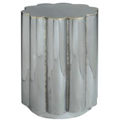 Regina Andrew Hand Global Bazaar Polished Steel Daisy Side Table