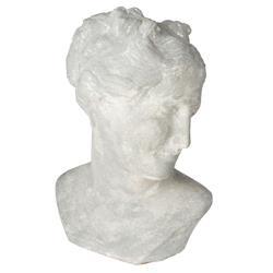 Vereen Modern Classic White Ceramic Venus Bust
