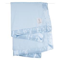 Little Giraffe Luxe™ Modern Classic Blue Baby Blanket