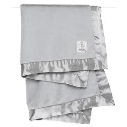 Little Giraffe Luxe™ Modern Classic Silver Baby Blanket
