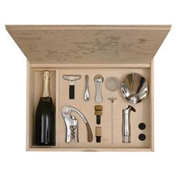 L'Atelier Du Vin Oeno Modern Classic Connoisseur Wine Tools Box - Set of 11