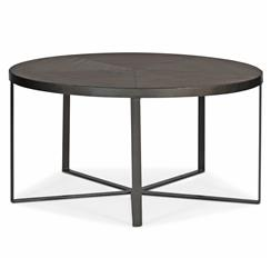 Michael Industrial Loft Mindy Wood Iron Coffee Table