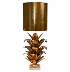 Plantation Global Bazaar Gold Pineapple Table Lamp