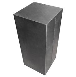 Hollow Raw Steel Industrial Loft Display Pedestal Stands - 32 Inch